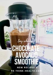 Chocolate AvocadoSmoothie