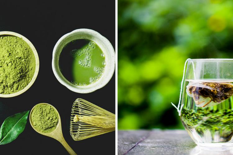 Green tea and matcha tea